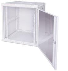 Шкаф с открытой стеклянной дверью